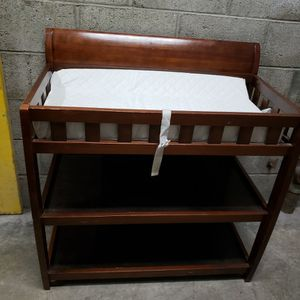 Baby Changing Table Solid Wood for Sale in Long Beach, CA