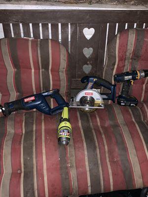 Ryobi power tool set for Sale in Shelbyville, TN