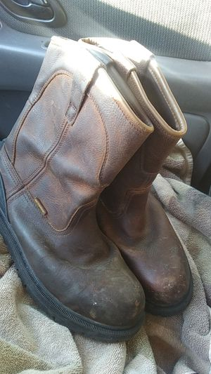 SURVIVORS STEEL TOE WORK BOOTS for Sale in South Salt Lake, UT