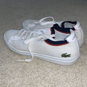 Women's Lacoste Canvas shoes size 8.5 for Sale in Sterling, VA