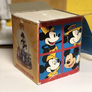 Disney World Store 2000 Mickey Mouse Millennium Musical Snow Water Globe for Sale in Gainesville, GA