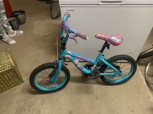 Very small girl pink and white bicycle mini bike for Sale in Darien, IL