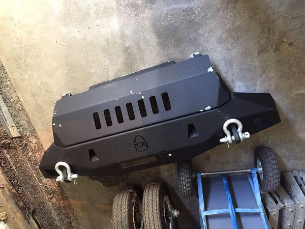 JCR front winch bumper for Jeep Wrangler JK
