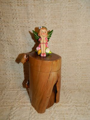 Handcarved Fairy Trinket/Ring Box for Sale in Glendale, AZ