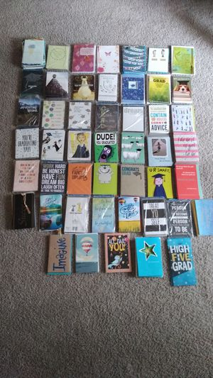 250 New Cards With Envelopes ( new , never used ) price for all for Sale in Frederick, MD
