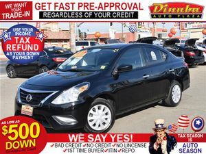 2017 Nissan Versa Sedan for Sale in Dinuba, CA