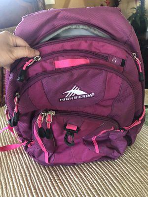 High Sierra purple backpack for Sale in Chino Hills, CA