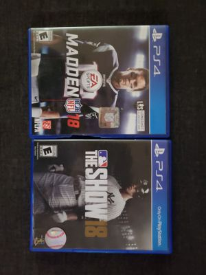 PS4 games for Sale in Fond du Lac, WI