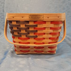 Longaberger 1997 Village 20th Century Basket 1st Edition w Liner for Sale in Mooseheart, IL