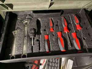 Snap on box with rollers and handle .. Two more drawers of tools that wont list for Sale in St. Louis, MO