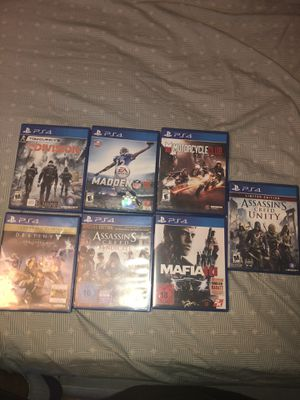 Ps4 games for Sale in Killeen, TX