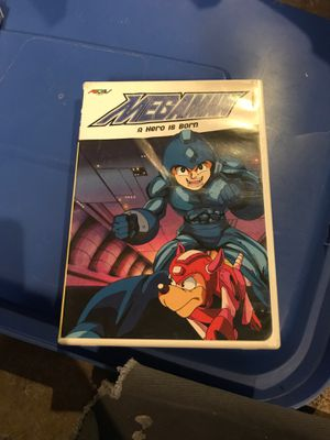Mega man anime dvd collection for Sale in Chula Vista, CA