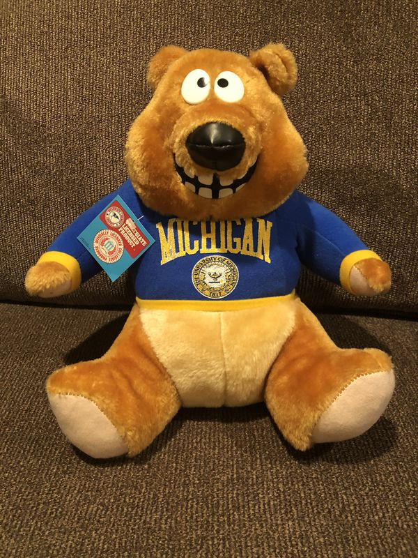 University of Michigan Teddy Bear