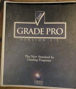 Orbis Easy Grade Pro Version 3.5 Teacher Grading Software for Sale in Mesa Grande, AZ