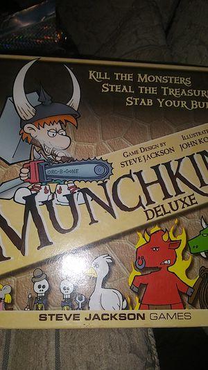 Munchkin Deluxe board game for Sale in Oakley, CA