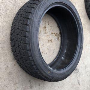 Winter Snow Tire Like New Bridgestone 225/45/18 for Sale in Des Plaines, IL
