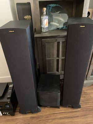 Klipsch Tower Speakers and Sub Woofer for Sale in San Diego, CA