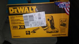 Dewalt Compact Reciprocating Saw Kit for Sale in Fort Worth, TX