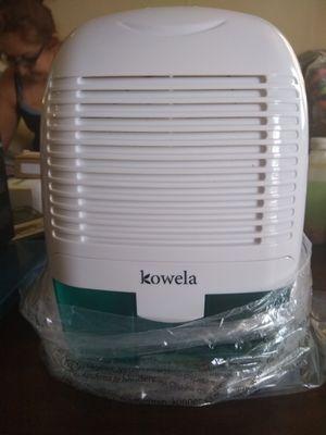 Kowela Electric Dehumidifier for Home 2200 Cubic Feet(52 oz Capacity) Compact Quiet Portable Small Dehumidifiers for Sale in San Bernardino, CA