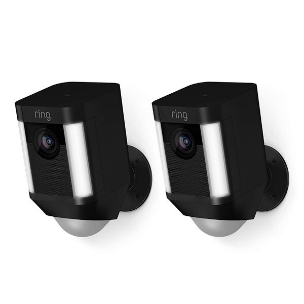 2-Pack Ring Spotlight Battery Security Cameras New In Box