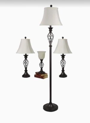 4 Piece Lamp Set for Sale in Gahanna, OH
