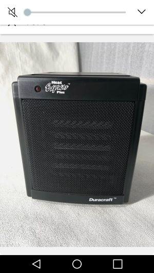 Duracraft Heat Express Ceramic Heater for Sale in York, PA