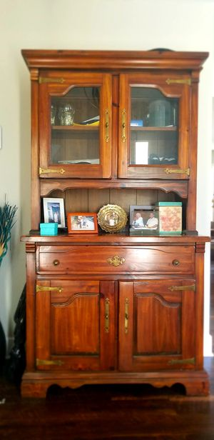 Solid Wood Hutch for Sale in Stafford, VA