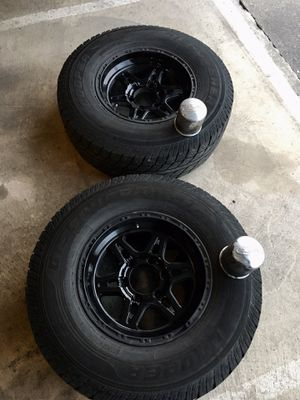 2 Cooper Discover ATR Tires and Rims for Sale in Tacoma, WA