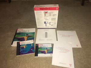 Adobe PageMaker 7.0 Educational Version for Sale in Los Angeles, CA