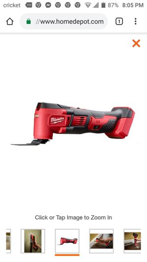 Brand New in box. Milwaukee M18 18-Volt Lithium-Ion Cordless Oscillating Multi-Tool (Tool-Only) for Sale in Austin, TX