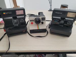 Vintage polaroid cameras for Sale in San Jose, CA
