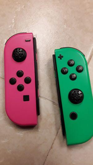 Nintendo Switch Limited Splatoon Joyconz for Sale in Bakersfield, CA