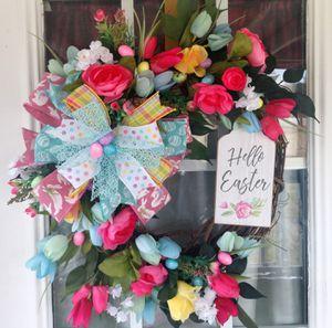 Spring Wreath, Easter Wreath, Door Wreath for Sale in Selma, NC