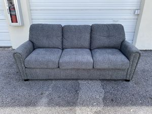 40% OFF // OPEN BOX LIKE NEW // COSTCO Bainbridge Fabric Sleeper Sofa for Sale in Pompano Beach, FL