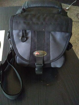 Lowepro EX 120 Camera Case Nylon Bag Digital Film Photo Travel Shoulder Strap for Sale in Elkhart, IN