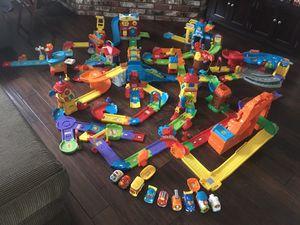 VTECH GoGo Smart Wheels Car Track train set toddler kids toy Christmas gift for Sale in Hesperia, CA