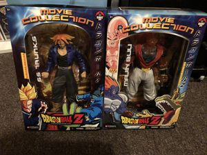 Dragon Ball Z classic Jakks Pacific figures (Movie Collection series) - Trunks & Buu for Sale in Fresno, CA