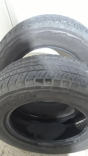 2 Tires Fuzion 215/70R16 for Sale in Sterling, VA
