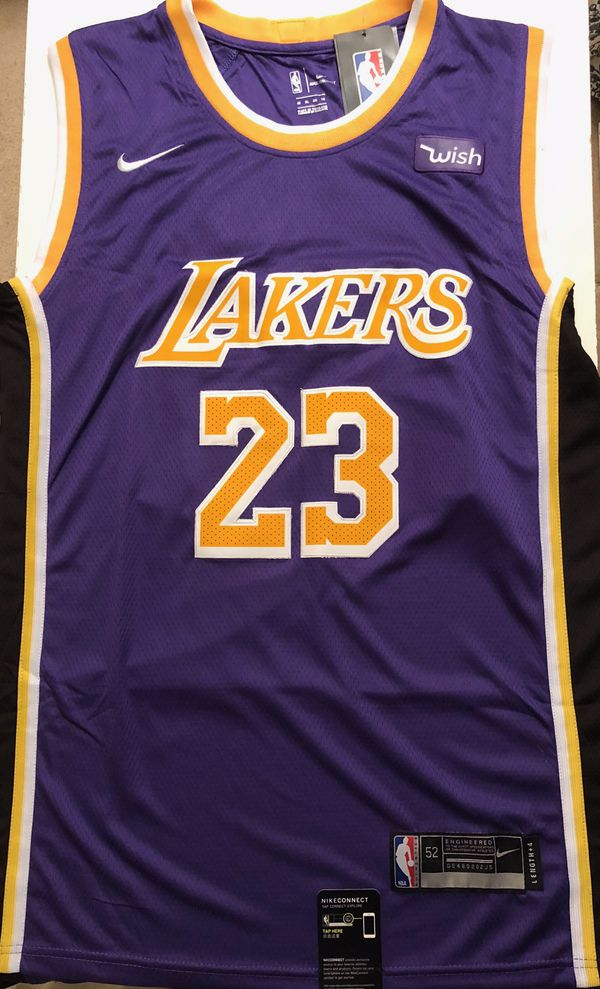 *****BRAND NEW, STITCHED, LEBRON JAMES #23 LAKERS JERSEY*****