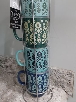 New Coffee Mugs With Stand, NO HOLDS, PICK UP AT EAST ORLANDO BY WATERFORD LAKES MALL for Sale in Orlando,  FL