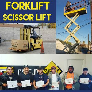 Black Friday Discounted Pricing For Forklift & Aerial Lift Training for Sale in North Las Vegas, NV