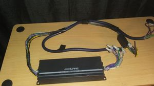 Alpine KTP-445U Power Pack Compact 4-channel car amplifier — 45 watts RMS X 4 for Sale in Louisville, KY