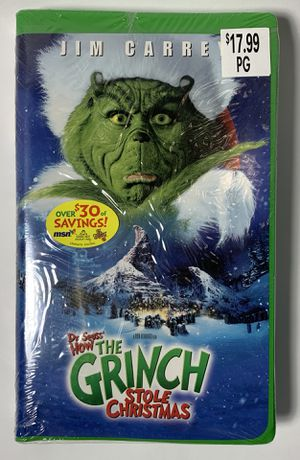 Dr. Seuss How The Grinch Stole Christmas VHS for Sale in Greenville, SC