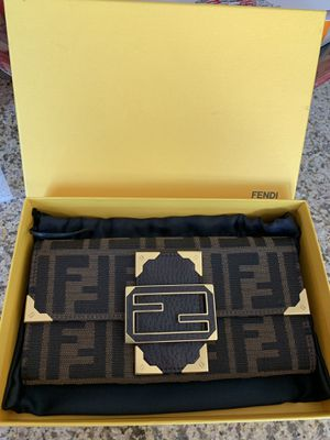 Authentic Fendi Limited Edition Long wallet $450 for Sale in Chula Vista, CA