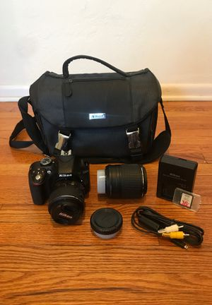 Nikon D3300 for Sale in San Diego, CA