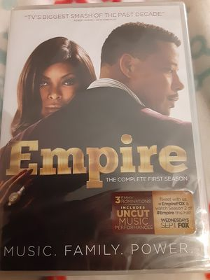 EMPIRE COMPLETE 1ST SEASON (DVD) NEW for Sale in Lewisville, TX