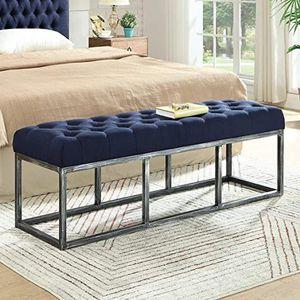 Ottoman Furniture Bedroom Mueble Cabezero Dormitorio Blue Azul for Sale in Miami, FL