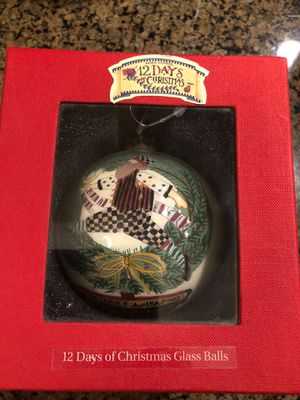 Debbie Mum 12 Days of Christmas ornament for Sale in Ontario, CA