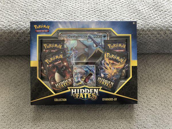 Pokemon Hidden Fates Gyarados - GX New