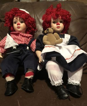Raggedy Ann and Andy dolls for Sale in Phoenix, AZ